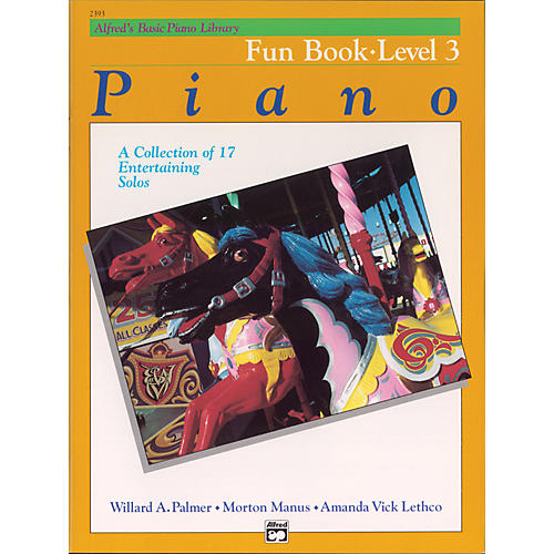 Alfred Alfred's Basic Piano Course Fun Book 3-thumbnail