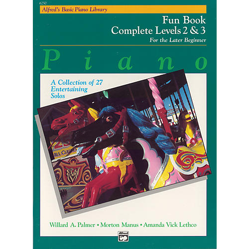 Alfred Alfred's Basic Piano Course Fun Book Complete 2 & 3-thumbnail