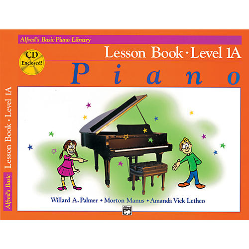 Alfred Alfred's Basic Piano Course Lesson Book 1A Book 1A & CD-thumbnail