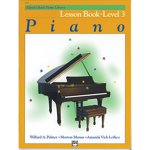 Alfred Alfred's Basic Piano Course Lesson Book 3-thumbnail