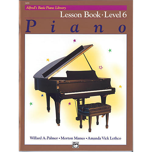 Alfred Alfred's Basic Piano Course Lesson Book 6-thumbnail