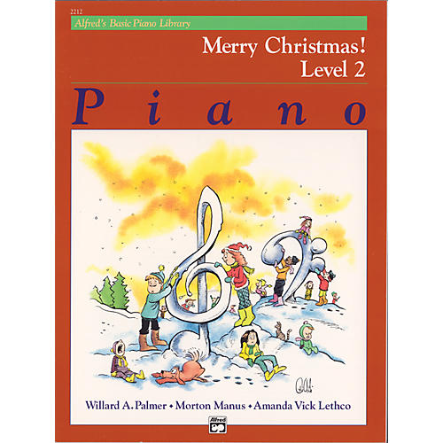 Alfred Alfred's Basic Piano Course Merry Christmas! Book 2-thumbnail