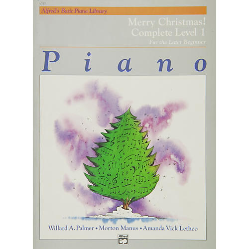 Alfred Alfred's Basic Piano Course Merry Christmas! Complete Book 1 (1A/1B)-thumbnail