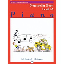 Alfred Alfred's Basic Piano Course Notespeller Book 1A