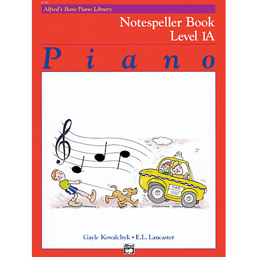 Alfred Alfred's Basic Piano Course Notespeller Book 1A-thumbnail