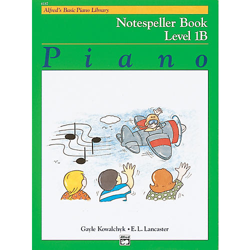 Alfred Alfred's Basic Piano Course Notespeller Book 1B-thumbnail