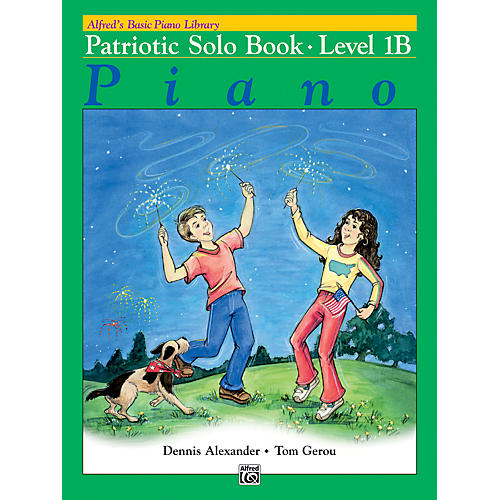 Alfred Alfred's Basic Piano Course Patriotic Solo Book 1B-thumbnail