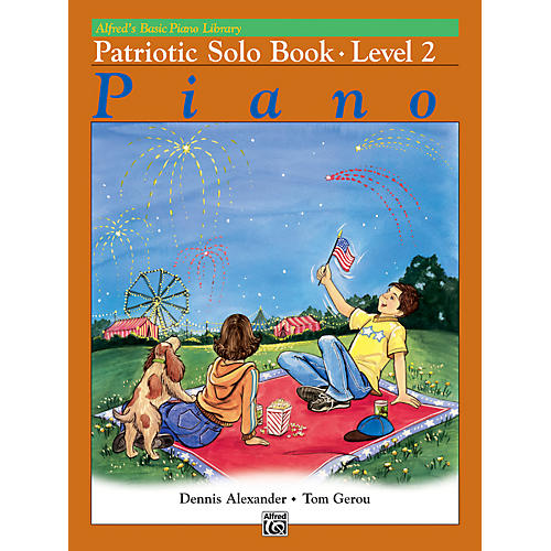 Alfred Alfred's Basic Piano Course Patriotic Solo Book 2-thumbnail