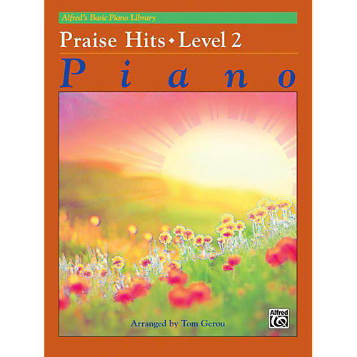 Alfred Alfred's Basic Piano Course Praise Hits Level 2 Book-thumbnail