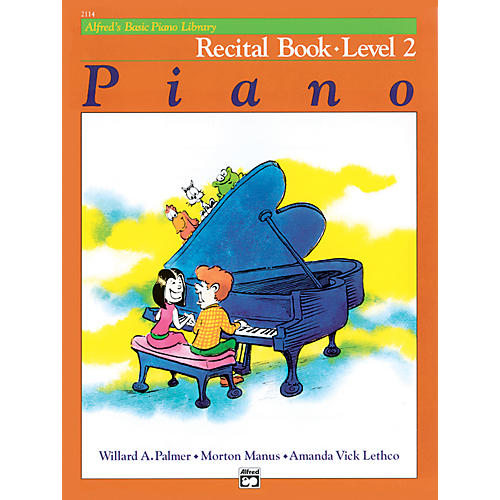 Alfred Alfred's Basic Piano Course Recital Book 2-thumbnail