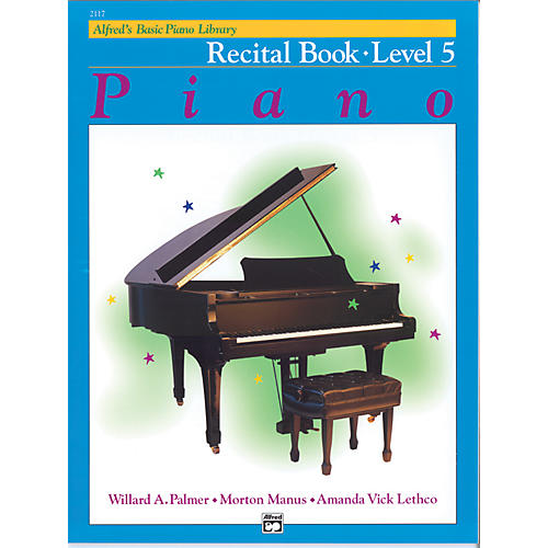 Alfred Alfred's Basic Piano Course Recital Book 5-thumbnail