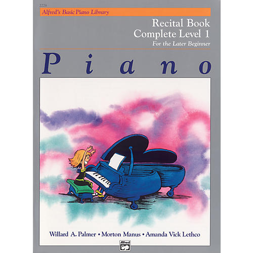 Alfred Alfred's Basic Piano Course Recital Book Complete 1 (1A/1B)-thumbnail