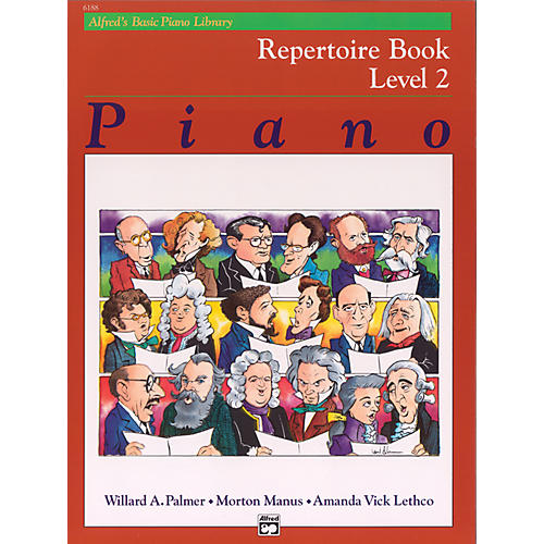 Alfred Alfred's Basic Piano Course Repertoire Book 2-thumbnail