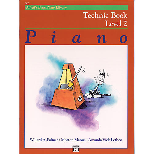 Alfred Alfred's Basic Piano Course Technic Book 2-thumbnail