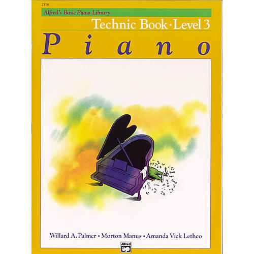 Alfred Alfred's Basic Piano Course Technique Book 3