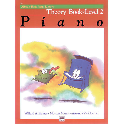 Alfred Alfred's Basic Piano Course Theory Book 2-thumbnail