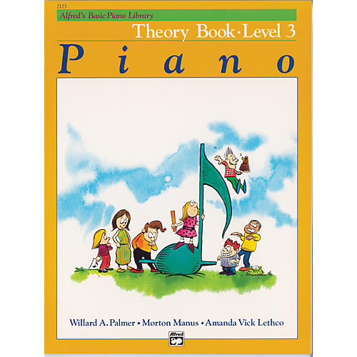 Alfred Alfred's Basic Piano Course Theory Book 3-thumbnail