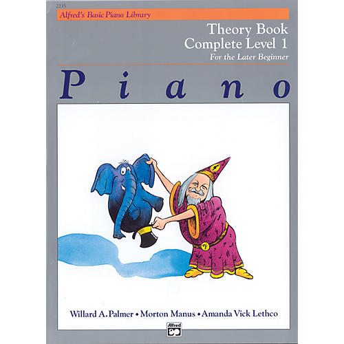 Alfred Alfred's Basic Piano Course Theory Book Complete 1 (1A/1B)-thumbnail