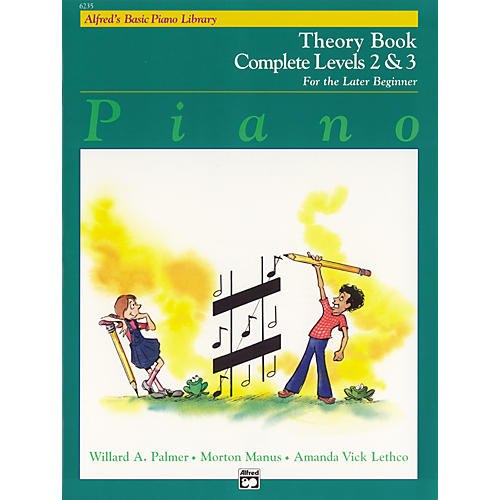 Alfred Alfred's Basic Piano Course Theory Book Complete 2 & 3-thumbnail