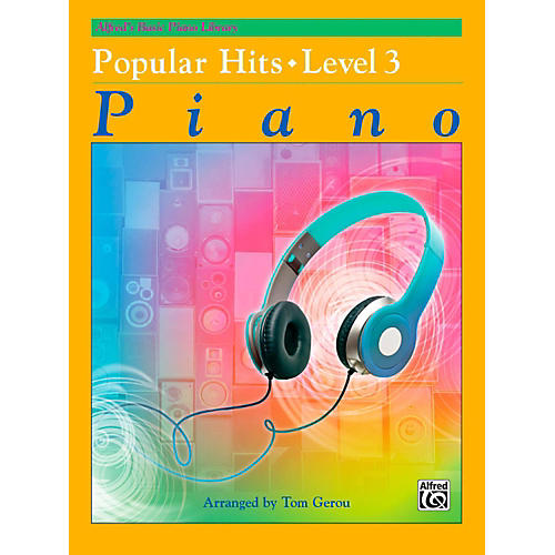 Alfred Alfred's Basic Piano Library - Popular Hits Level 3-thumbnail