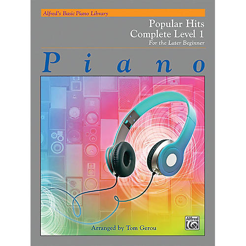 Alfred Alfred's Basic Piano Library: Popular Hits Complete Level 1 (1A/1B)-thumbnail