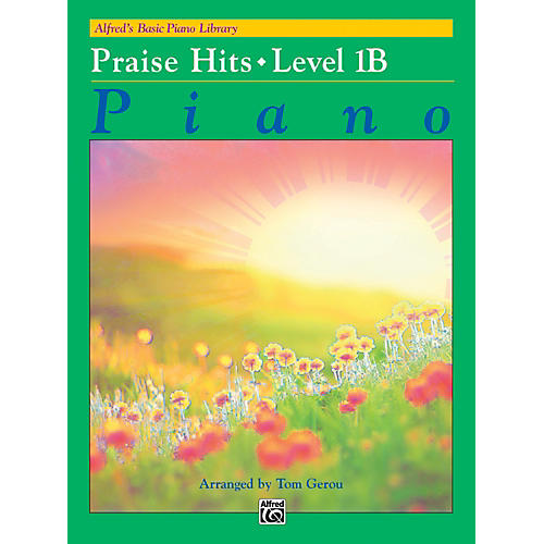 Alfred Alfred's Basic Piano Library: Praise Hits 1B Book-thumbnail