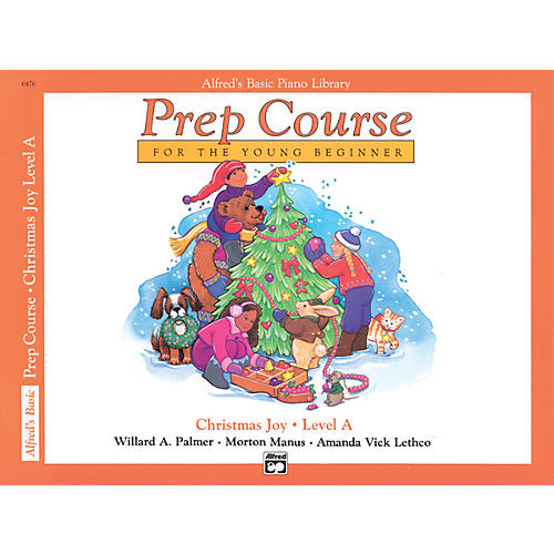 Alfred Alfred's Basic Piano Prep Course Christmas Joy! Book A