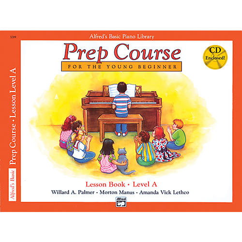 Alfred Alfred's Basic Piano Prep Course Lesson Book A Book A & CD