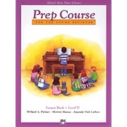 Alfred Alfred's Basic Piano Prep Course Lesson Book D