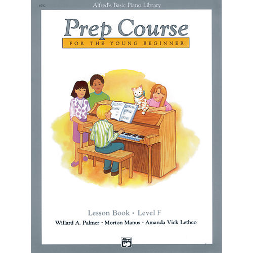 Alfred Alfred's Basic Piano Prep Course Lesson Book F-thumbnail