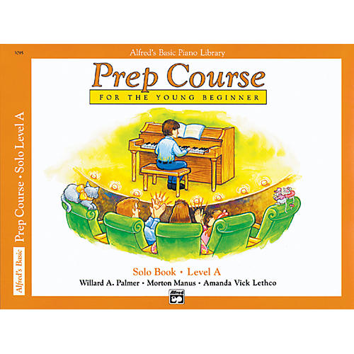 Alfred Alfred's Basic Piano Prep Course Solo Book A-thumbnail