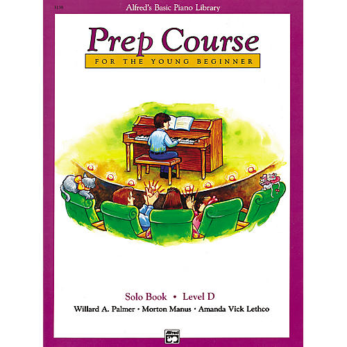 Alfred Alfred's Basic Piano Prep Course Solo Book D