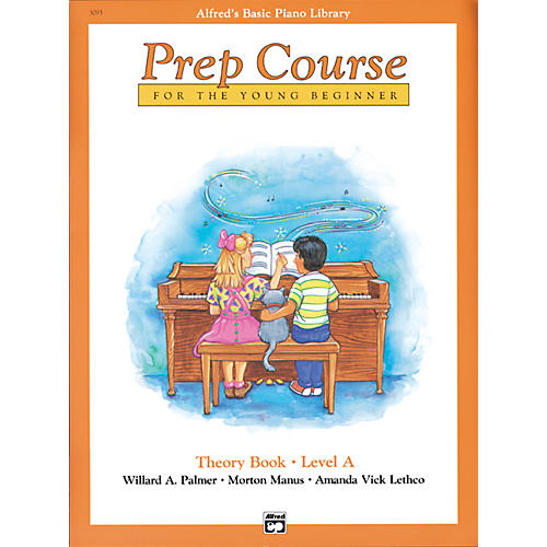 Alfred Alfred's Basic Piano Prep Course Theory Book A-thumbnail