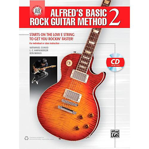 Alfred Alfred's Basic Rock Guitar Method 2 Book & CD