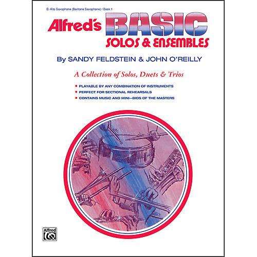 Alfred Alfred's Basic Solos and Ensembles Book 1 Alto Sax Baritone Sax-thumbnail