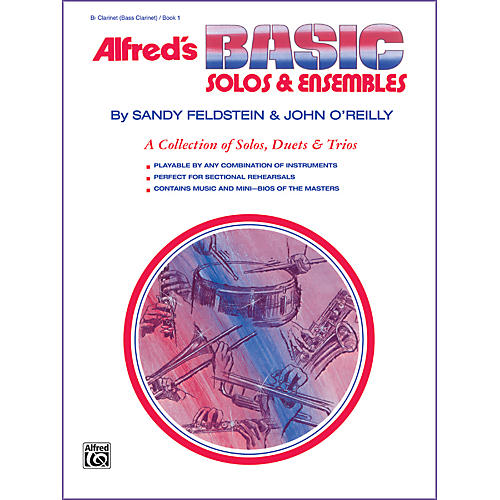 Alfred Alfred's Basic Solos and Ensembles Book 1 Clarinet Bass Clarinet-thumbnail