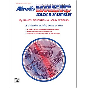 Alfred Alfreds Basic Solos and Ensembles Book 2 Cornet Baritone T.C.