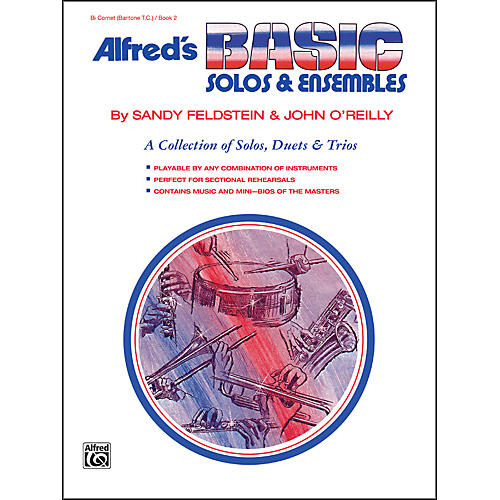 Alfred Alfred's Basic Solos and Ensembles Book 2 Cornet Baritone T.C.