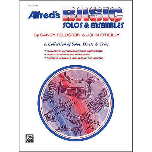 Alfred Alfred's Basic Solos and Ensembles Book 2 Flute