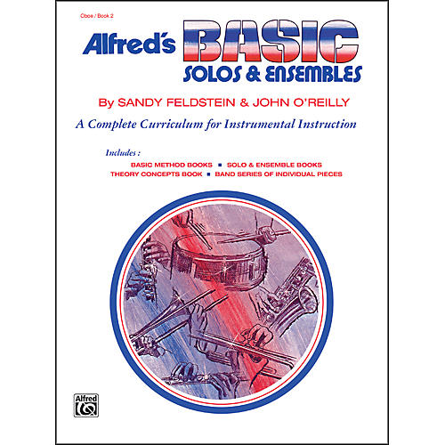 Alfred Alfred's Basic Solos and Ensembles Book 2 Oboe-thumbnail