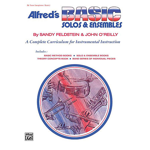 Alfred Alfred's Basic Solos and Ensembles Book 2 Tenor Sax
