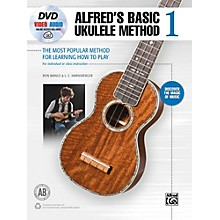 Alfred Alfred's Basic Ukulele Method 1 Book, DVD & Online Audio & Video Beginner