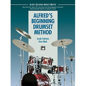 Alfred Alfreds Beginning Drumset Method Book by Alfred