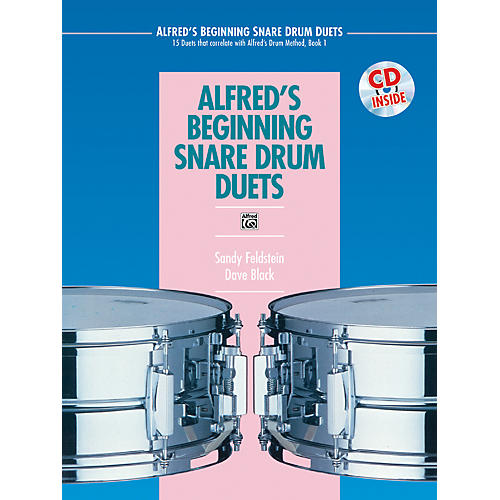 Alfred Alfred's Beginning Snare Drum Duets Book & CD-thumbnail