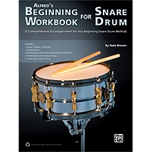 Alfred Alfred's Beginning Workbook for Snare Drum Book