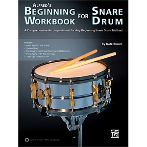 Alfred Alfreds Beginning Workbook for Snare Drum Book by Alfred