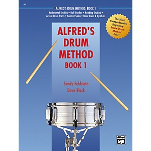 Click here to buy Alfred Alfreds Drum Method, Book 1 by Alfred.