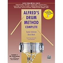 Alfred Alfred's Drum Method Complete Book & Rudiment Poster