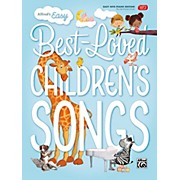 BELWIN Alfred's Easy Best-Loved Children's Songs Easy Hits Piano (Hardcover Edition)