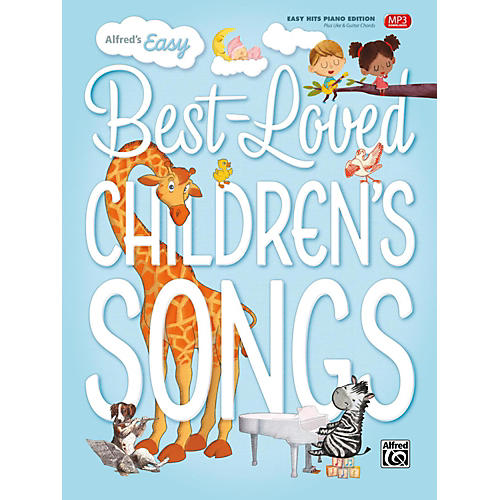 Alfred Alfred's Easy Best-Loved Children's Songs Easy Hits Piano (Hardcover Edition)-thumbnail